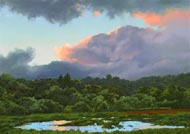 Twilight Clouds & Pond: Jim Promessi